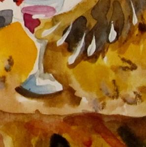 Detail Image for art Three French Hens