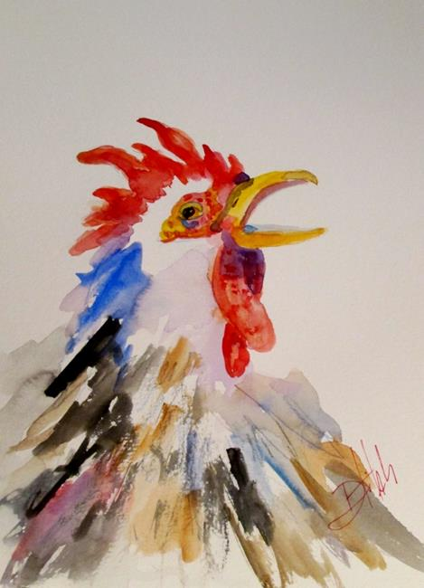 Art: Rooster No. 31 by Artist Delilah Smith