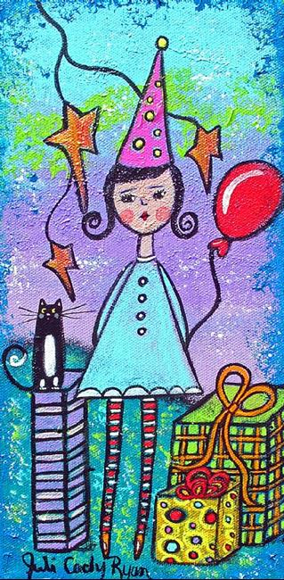 Art: Birthday Contemplation by Artist Juli Cady Ryan