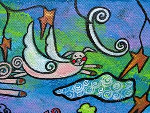 Detail Image for art When Adults Sleep Pigs Do Fly