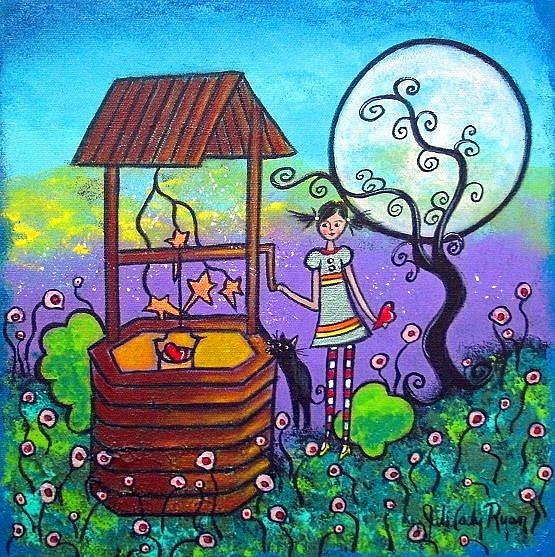Art: Moonlight Wish by Artist Juli Cady Ryan