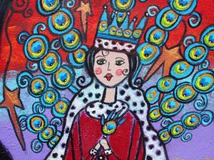 Detail Image for art The Peacock Queen