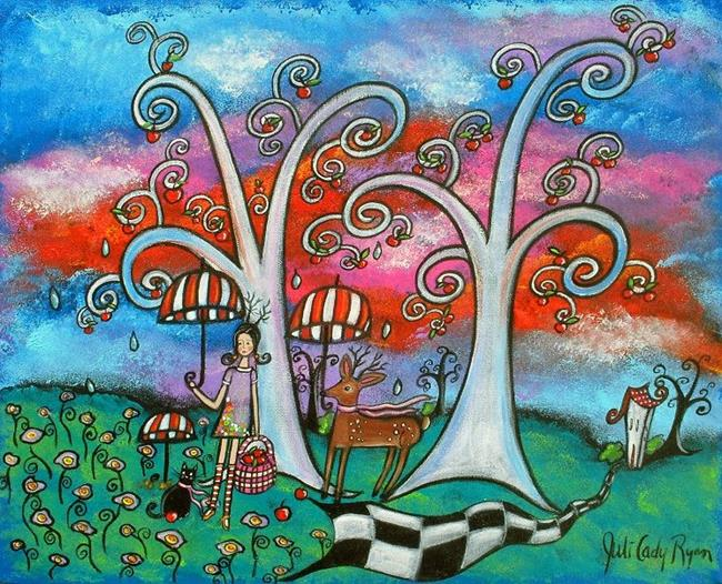Art: The Meeting Place by Artist Juli Cady Ryan