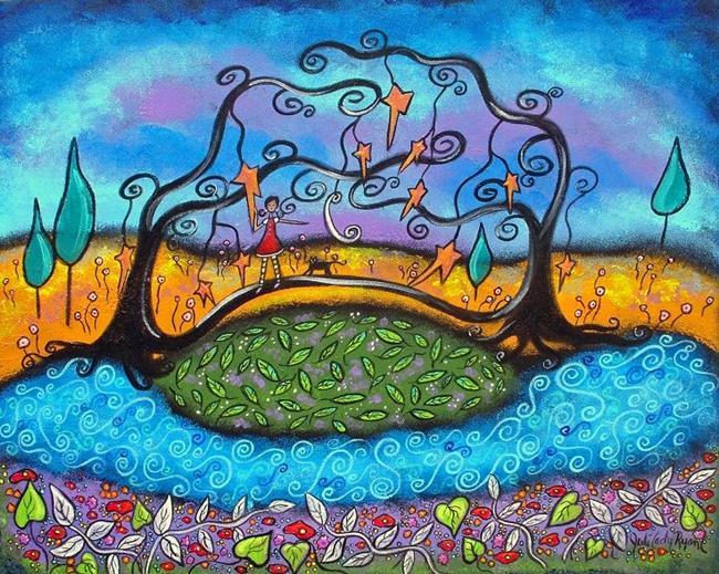 Art: My Bridge Over Troubled Waters by Artist Juli Cady Ryan