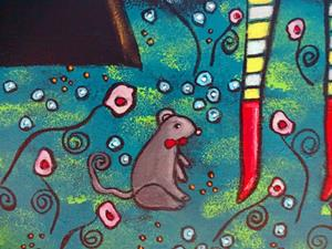 Detail Image for art The Lion The Mouse and The Crow