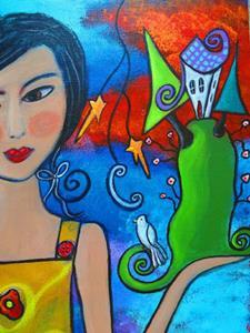 Detail Image for art Creating My World V