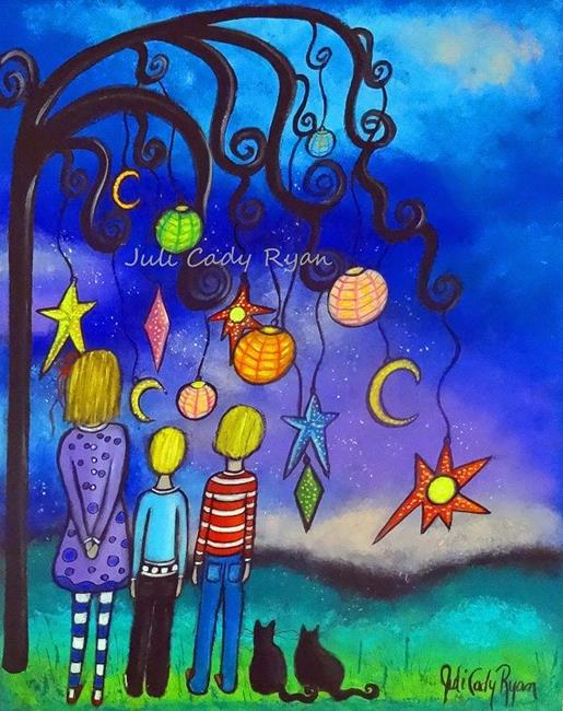 Art: Guiding Lights by Artist Juli Cady Ryan