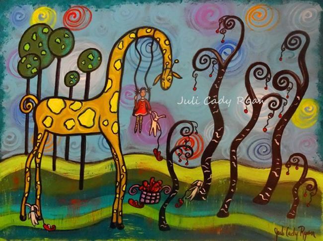 Art: Wounds Of Wisdom by Artist Juli Cady Ryan