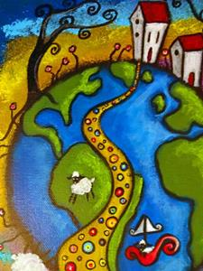 Detail Image for art The Path Back Home