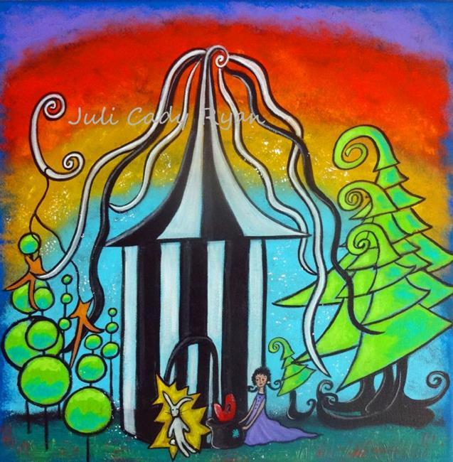 Art: Childhood Magic II by Artist Juli Cady Ryan