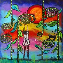 Art: Ladybug Love by Artist Juli Cady Ryan