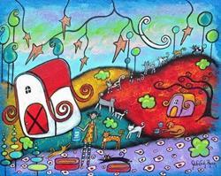 Art: Cat Parade by Artist Juli Cady Ryan
