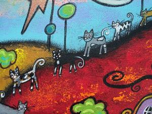 Detail Image for art Cat Parade