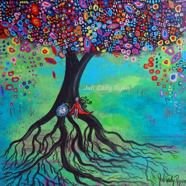 Art: The Pull of My Roots by Artist Juli Cady Ryan