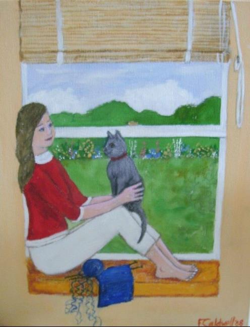 Art: Tangles by Artist Fran Caldwell
