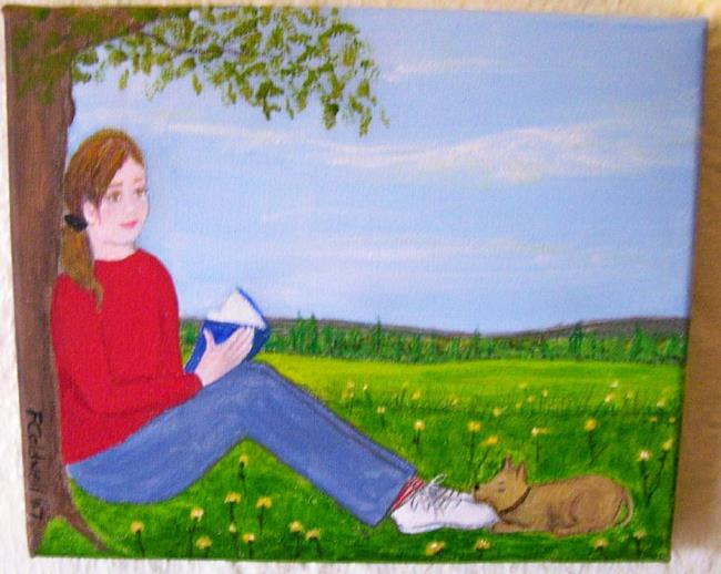 Art: Day Dreaming (Sold) by Artist Fran Caldwell