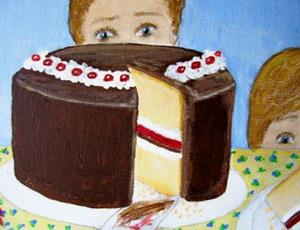 Detail Image for art The Cake (SOLD)