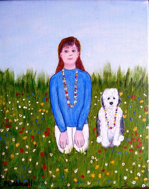 Art: Wildflowers (Not for Sale) by Artist Fran Caldwell