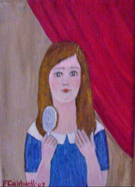 Art: Amanda (Sold) by Artist Fran Caldwell