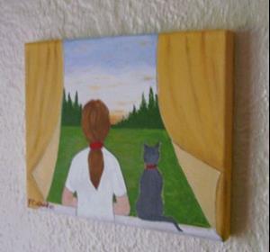 Detail Image for art Sunset (Sold)
