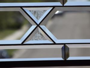 Detail Image for art Extra Long Clear Privacy Sidelight,Transom