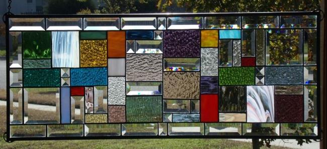 Art: Geometric Vibrant Colors # 1218 by Artist Chris Gleim
