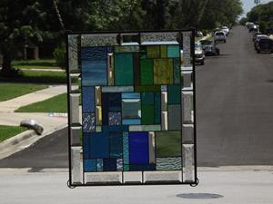 Detail Image for art Blue's & Green's •