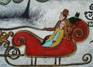Detail Image for art The Magical Sleigh Ride