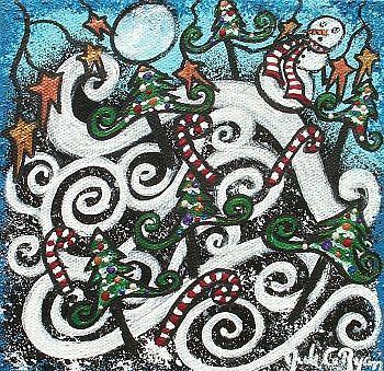 Art: Enchanted Christmas by Artist Juli Cady Ryan