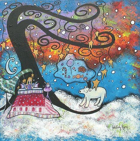 Art: Sugar Plum Dreams Interrupted by Artist Juli Cady Ryan