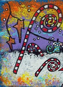 Detail Image for art Stockings for Santa