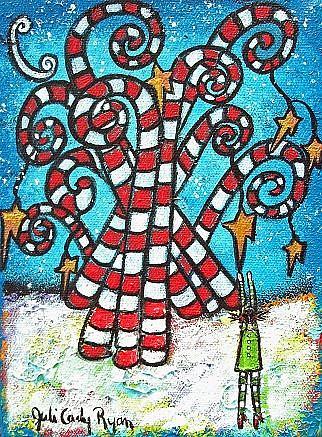 Art: Christmas Dream II by Artist Juli Cady Ryan