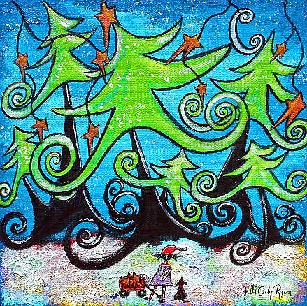 Art: Making Wishes Come True by Artist Juli Cady Ryan