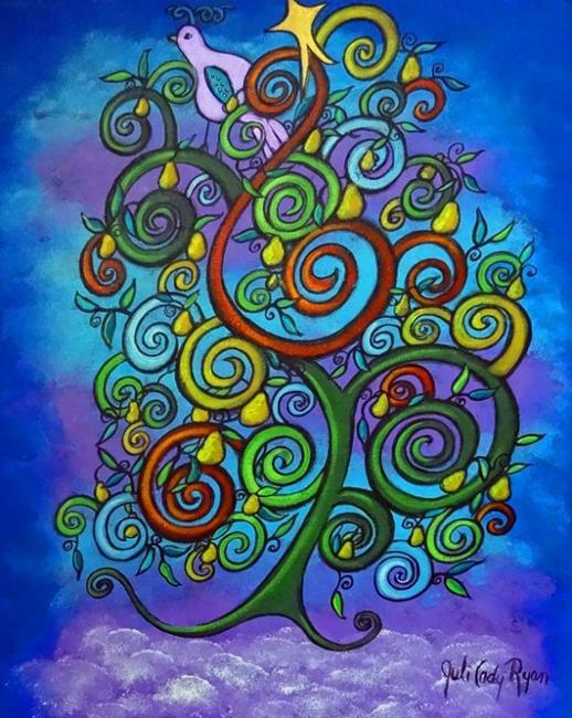 Art: The Lone Partridge by Artist Juli Cady Ryan