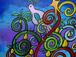 Detail Image for art The Lone Partridge