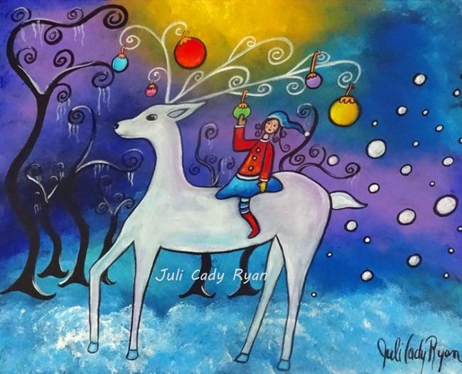Art: Celebrating Winter by Artist Juli Cady Ryan