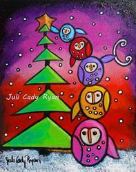 Art: The Spirit of the Season by Artist Juli Cady Ryan