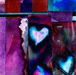 Art: Heart Fancy by Artist Kathy Morton-Stanion