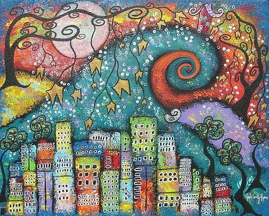 Art: Blissful Isolation by Artist Juli Cady Ryan