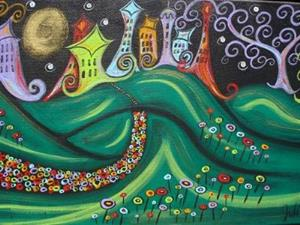 Detail Image for art Enchanted City II