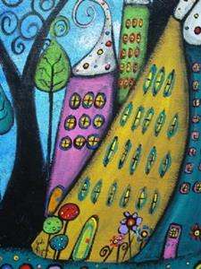 Detail Image for art The Joyful Town