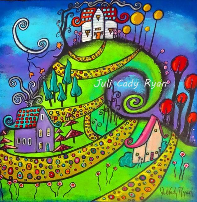 Art: Where My Heart Sings by Artist Juli Cady Ryan