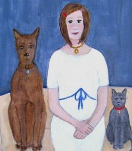 Detail Image for art Gladys and the Kids
