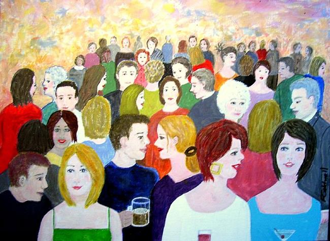Art: The Gathering by Artist Fran Caldwell
