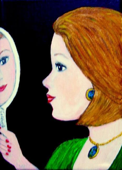 Art: Reflection by Artist Fran Caldwell