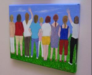 Detail Image for art Soccer Mums (Sold)