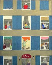 Art: La Vida (Sold) by Artist Fran Caldwell