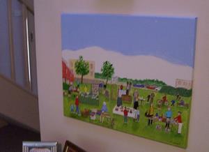 Detail Image for art Neighborhood Yard Sale (Sold)