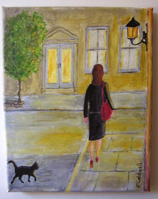 Art: Nearly Home (Sold) by Artist Fran Caldwell