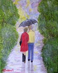Art: Let it Rain by Artist Fran Caldwell
